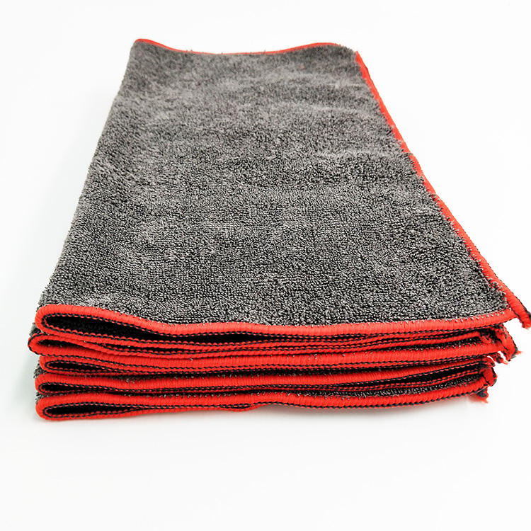 New Multipurpose Home Cleaning Wholesale Grey Microfiber Towels Cleaning Cloth For Cars
