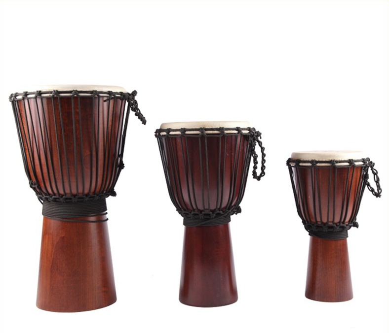 traditionele afrikaanse djembe drums