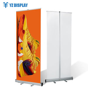 Display Led Licht Pvc Flex Productielijn Quick Screen Roller Banner Stand
