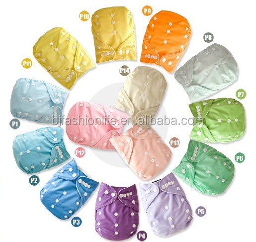 Naughtybaby 2016 Washable Baby Cloth Diaper fashion color for baby nappy diaper with insert