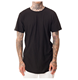 Wholesale custom mens casual long tail t shirts tee shirts with logo