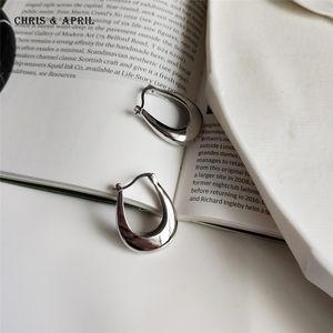 925 Silver fashion u shaped women earrings
