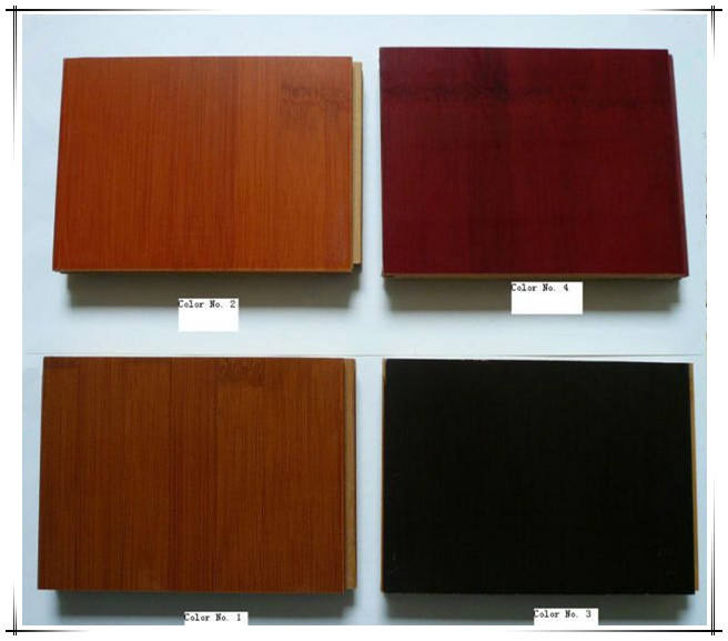 Stained/Colored Solid Bamboo flooring Black/walnut /CE/CHOHO