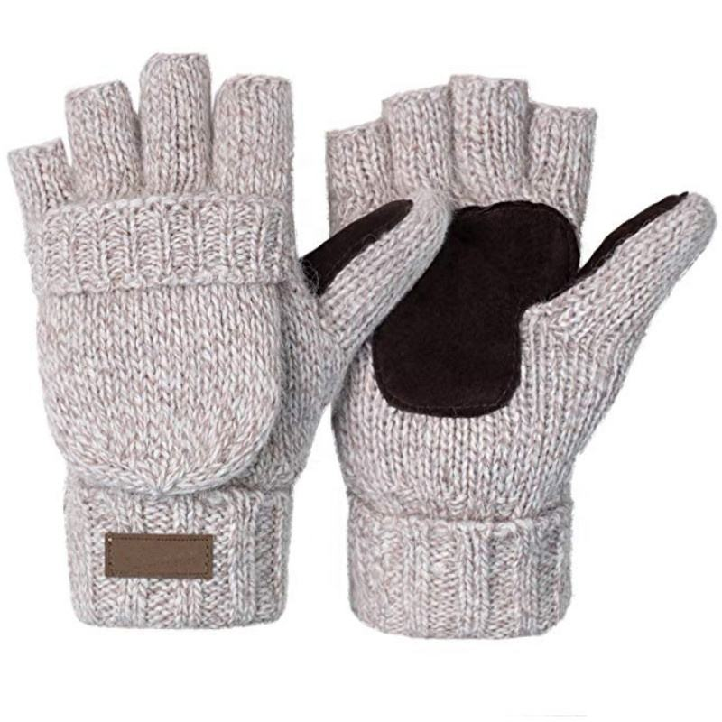 Boys Warmers Kids Magic Gloves Knitted Thermal Winter Insulated Outdoor Girls