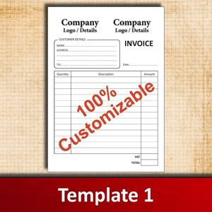Factory Supply Perfect Binding A5 NCR Paper Duplicate Sales Invoice Book