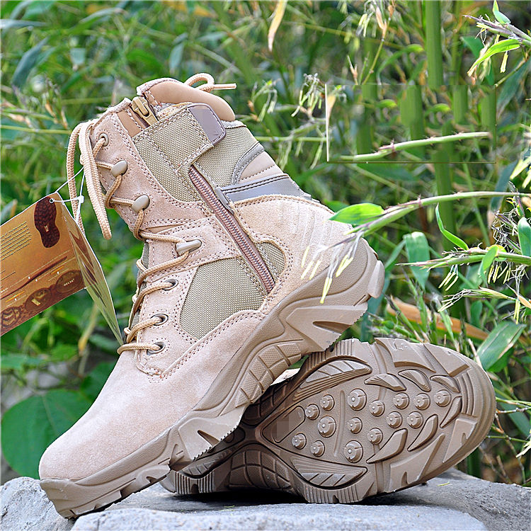 Men Tactical Training Boots Military Hunting Sneakers American Army style Desert Boots