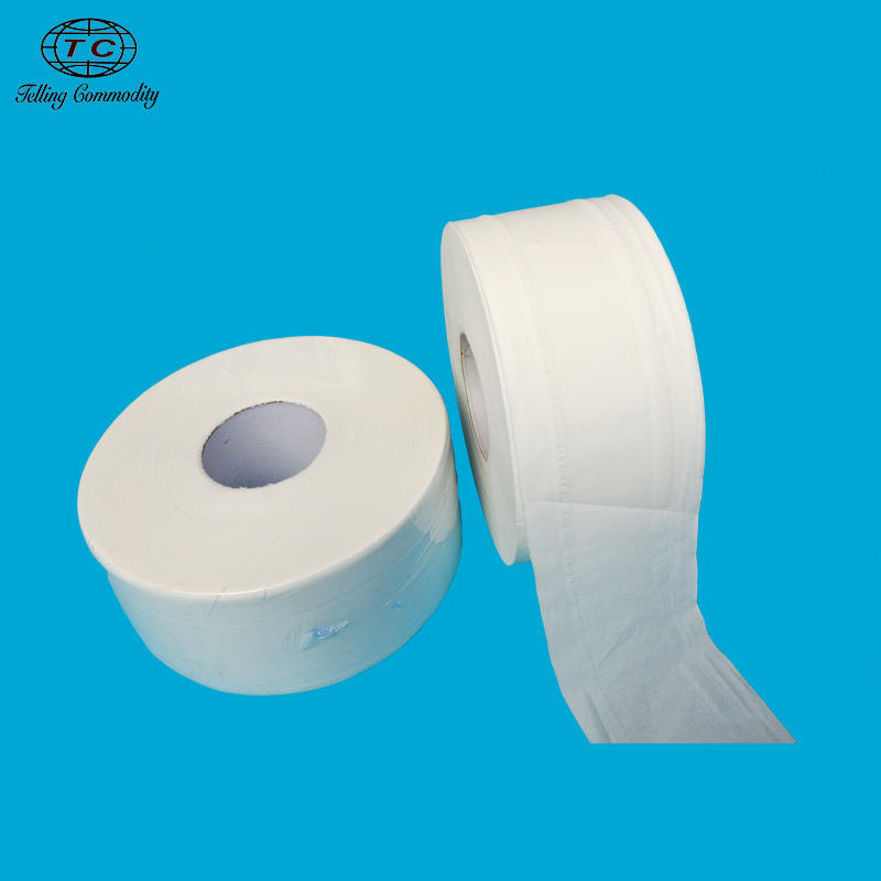 Wholesale Flushed Soluble Water 2ply 300m Jumbo Roll Toilet Tissue Paper