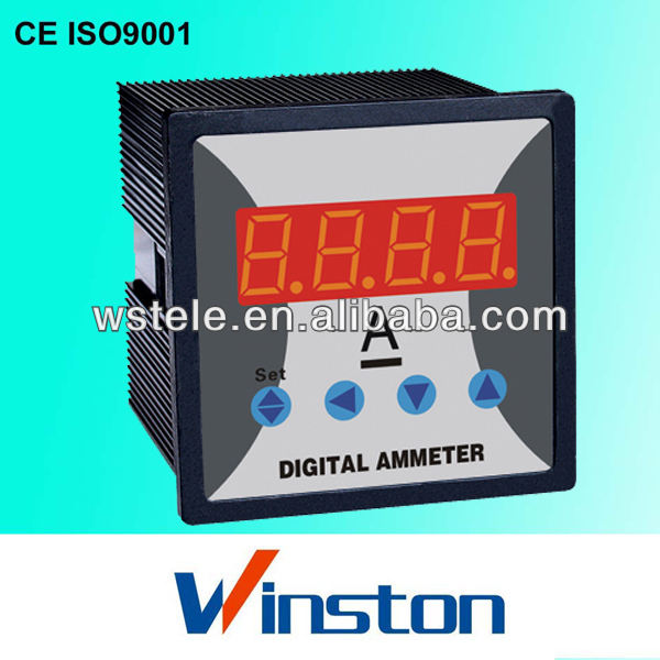 WST-295I single-phase DC digital ammeter and voltmeter with adjustable CT rate