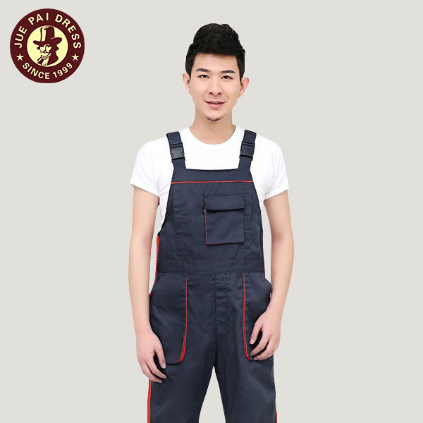 100%cotton Worker Painter Bib Pants Overall With Buckles