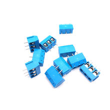 PCB Screw Terminal Block Connector, KF128-2P pitch:5.0MM/5.08MM/2.54MM/7.62MM, Green, KF128 2Pins