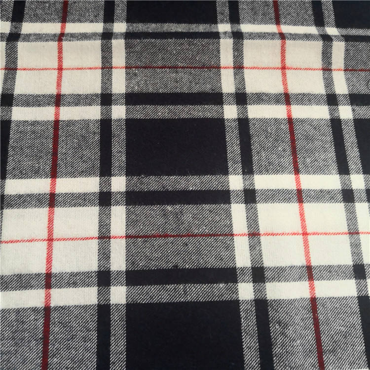 James 100% Cotton Yarn Dyed LA Finished HerringboneStripe/Check/Plaid Fabric, Fabric for Office Uniform