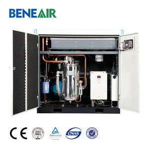Nitrogen oxygen generator use low pressure 3bar~10bar oil free screw air compressor with CE and ISO certification 15kw 20hp