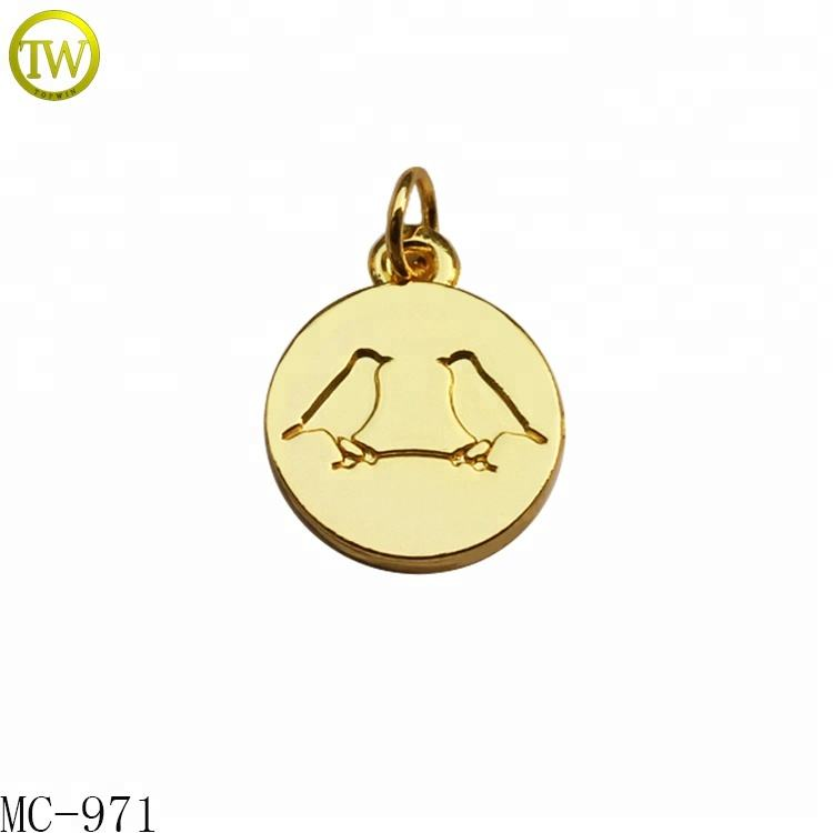 10K Yellow Gold Rembrandt Charms Cougar Charm with Lobster Clasp