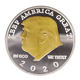 2020 New design Silver Golden Donald Trump President Commemorative Coin with double sides painting