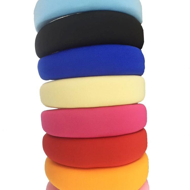 Thick Sponge Velvet Hairbands Headbands For Women Girls Head Bands Headwear Fashion Padded Hair Bands Accessories