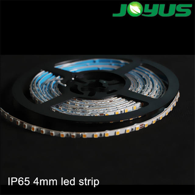 Ip65 4mm 24 v 120 led per metro 2835 led strisce di luce