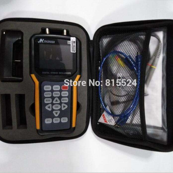 JDS2022A Handheld Oscilloscope Portable Oscilloscope JDS-2022A 20MHz 2Channels Digital Storage Dual Channel 200M Sa/S