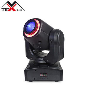 Profesional LED Lighting Stage 30 W DMX Mini Gobo Spot LED Lampu Moving Head