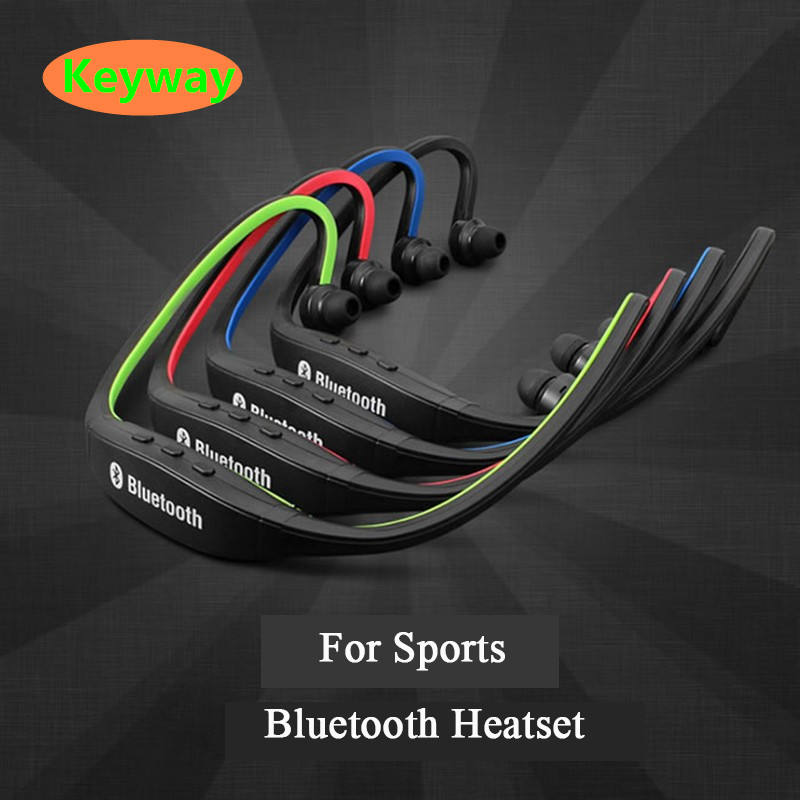 Desain baru Sport Wireless Bluetooth Earphone S9 FM SD Card Slot Bluetooth dengan olahraga menjalankan Mikrofon Headphone