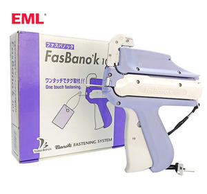 Semi-automatic Garment tag guns Loop fastener tagging gun FasBano'k101 for tag fastener