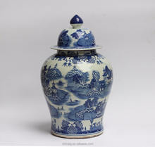 Hot Sell Chinese Blue and White Ginger Jar