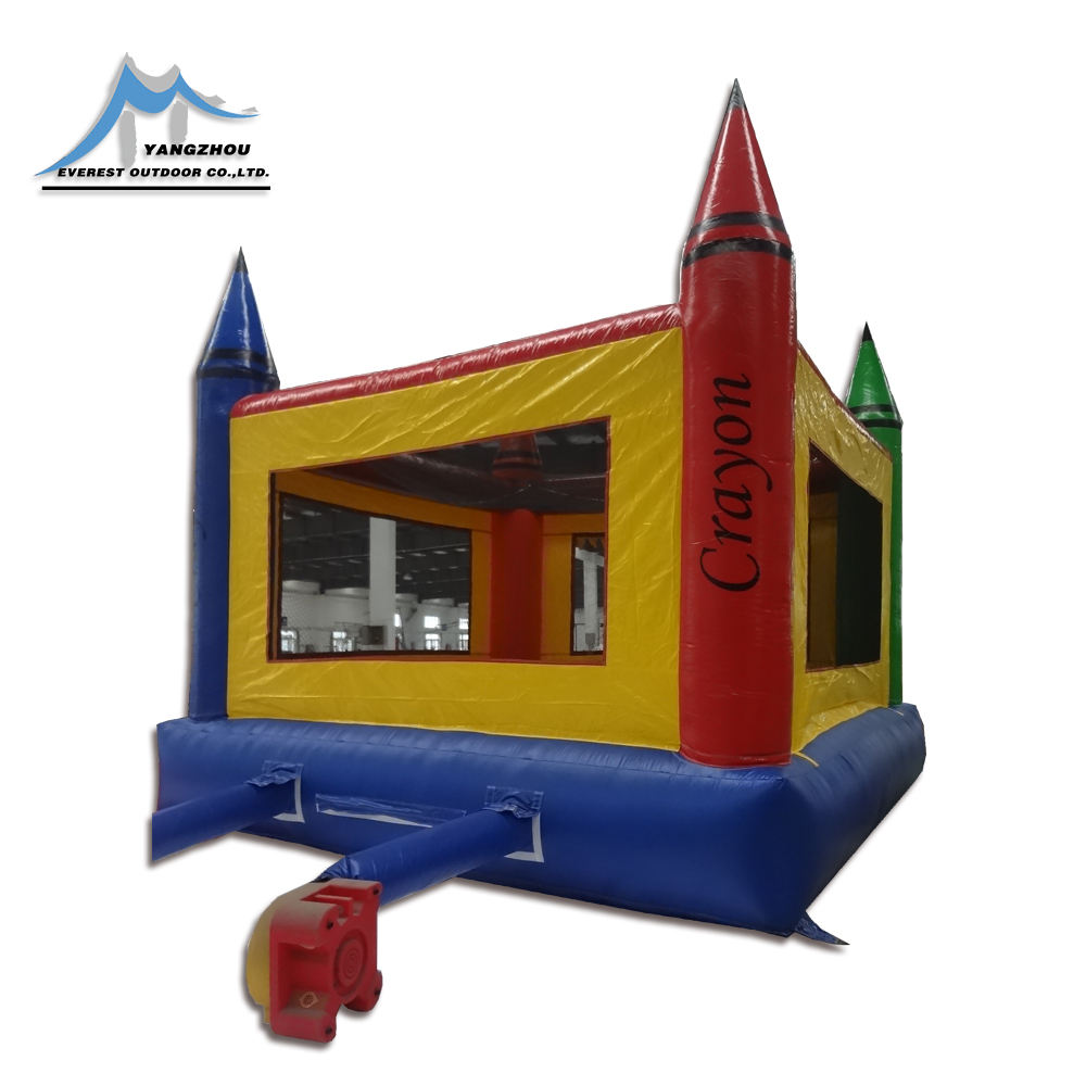 2018 Hot 6.2mx5.2mx4.4m bouncing jumping castle