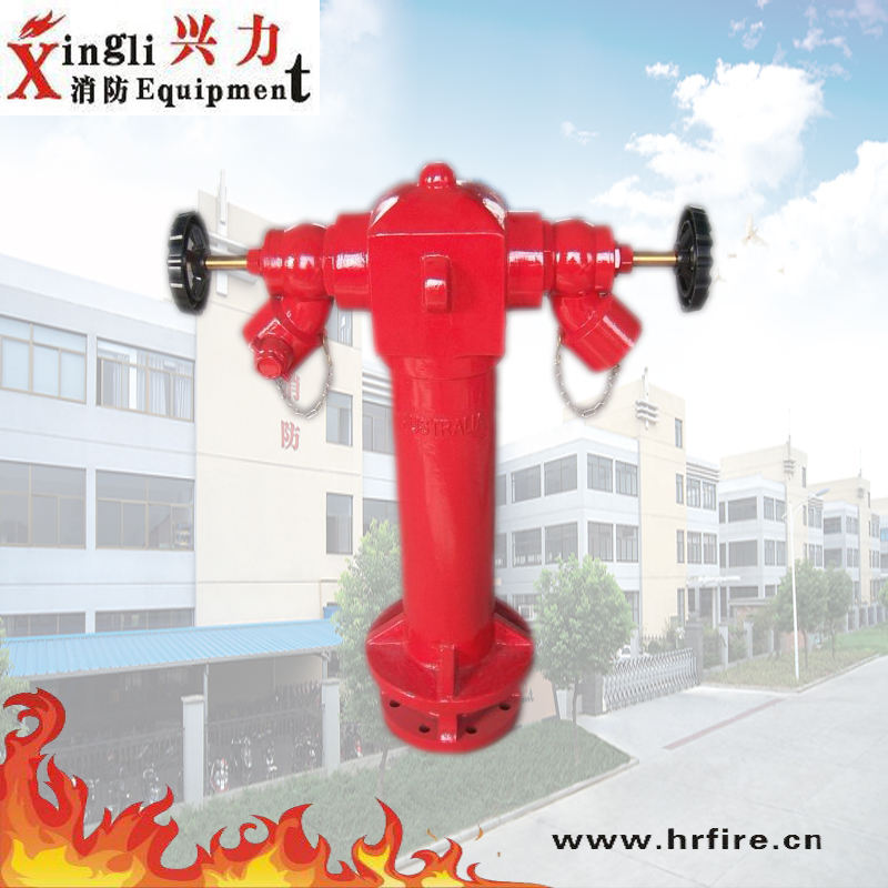 2-WAY Pillar Fire Hydrant DN100
