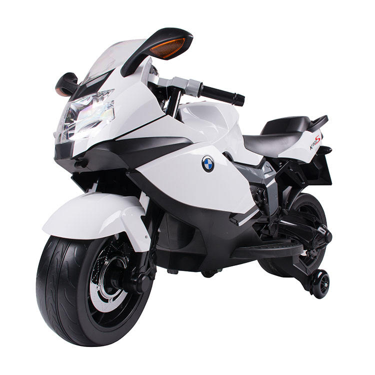 High quality License BMW 30W plastic children fast kids electric motorcycle