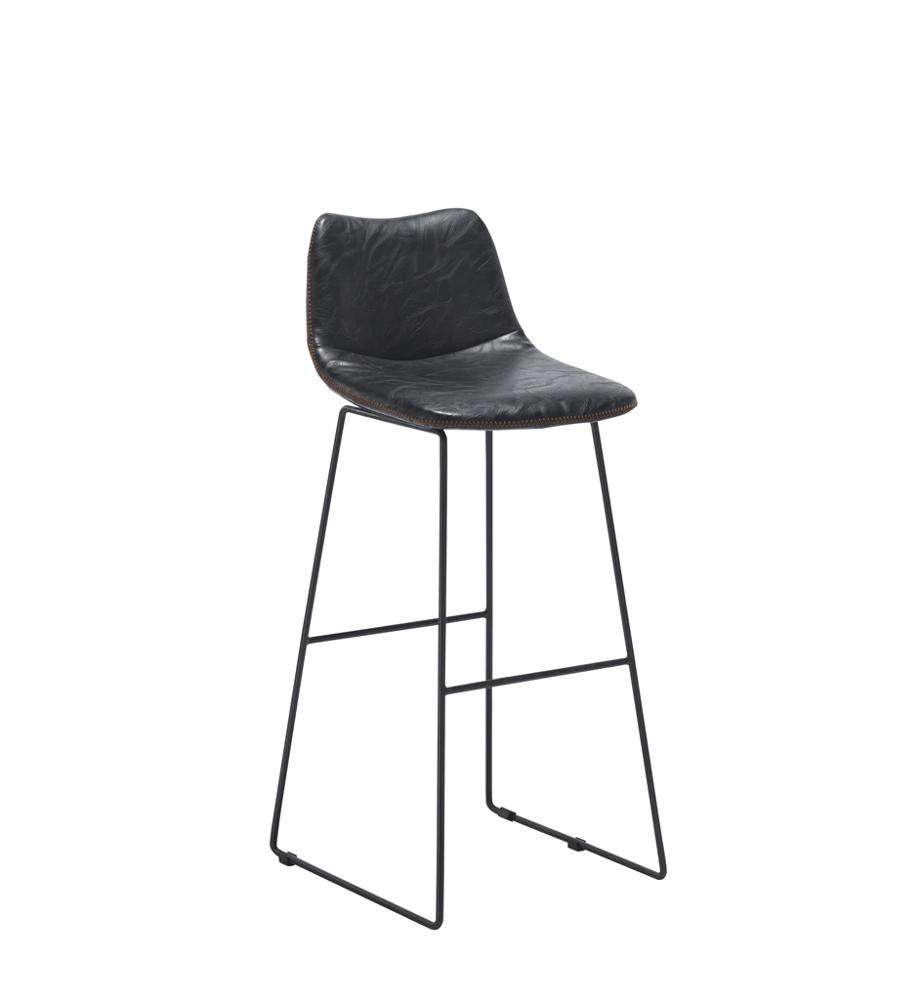 High Quality Bar Stools Bar Chairs Leather Tub Chairs with Backs