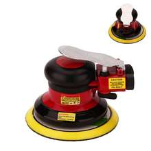 Professional Air Random Orbital Palm Pneumatic Sander, Low Vibration, Heavy Duty