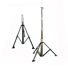 6m telescopic mast for military telecommunication tower