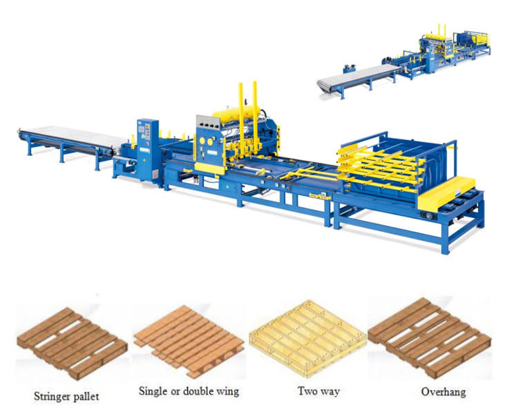 China Best Wooden Pallet Automatic Making Machine