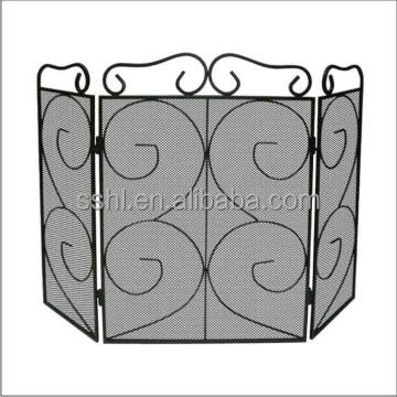 3 panel firescreen/ Fire screen with curve