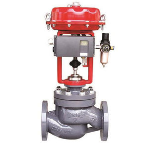 Globe Flow Direction Electric Actuated Motorized Control Globe Valve