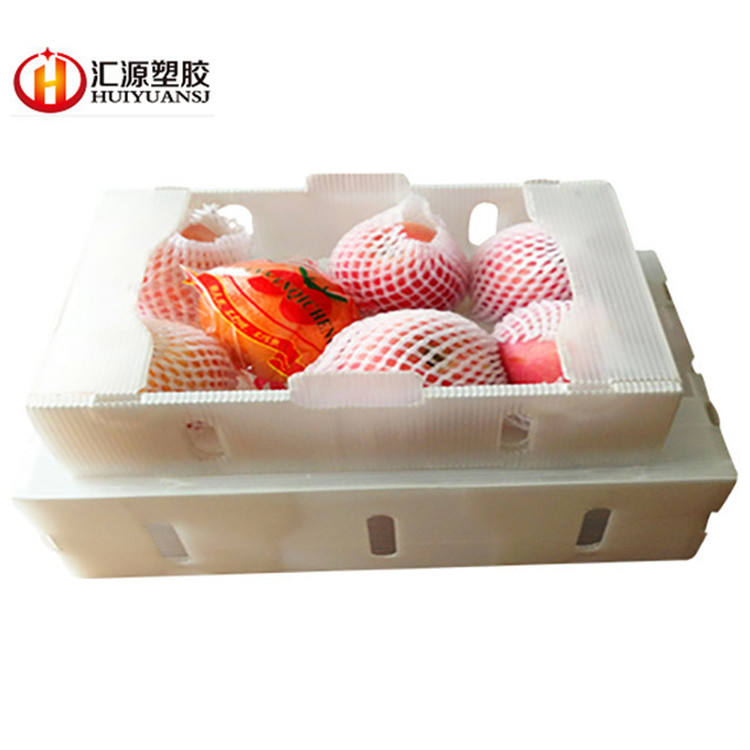 Recyclable Manufacturer Corrugated Plastic Packaging Box 100% New Material Natural Sheet Pp Corrugated Plastic Vegetable Asparagus Packaging Box