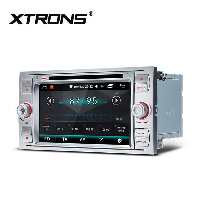 XTRONS 7'' 2din auto radio für FORD focus/s-max/fiesta, android gps navigation system, auto audio <span class=keywords><strong>dvd</strong></span> player
