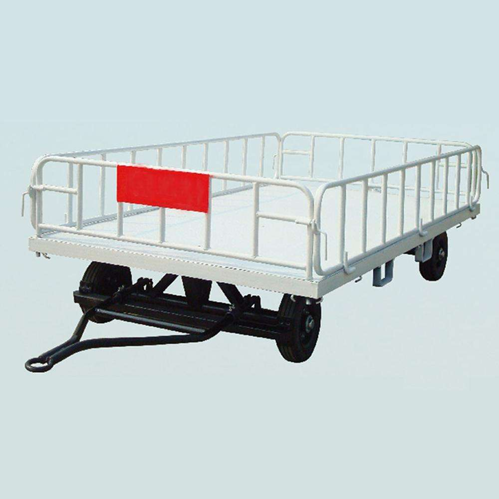 airport aviation luggage cart/ aircraft baggage cart
