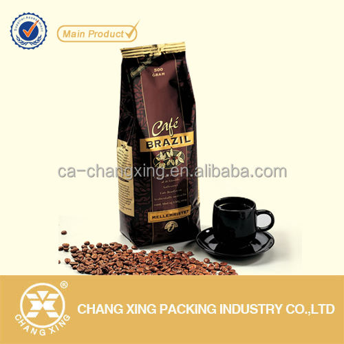 Кофе в зернах семена упаковка мешок с застежкой-молнией