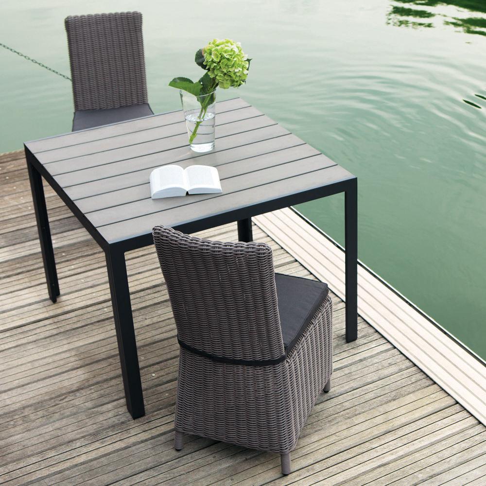 Muebles al aire libre del salón de la rota sintética de Hampton del estilo moderno de la navegación