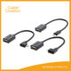 Micro USB B Male to USB 2.0 A Female OTG Adapter Converter Cable For LG Samsung Phone android