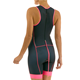 opening back zipper your own design Lycra fabrics sleeveless custom women cycling skin suit triathlon suit