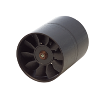 24v 12v high speed small mini round tube low noise axial air flow fan D481T-012KA-3/D481T-024KA-3/D481Q-012KA-4/D481Q-024KA-4