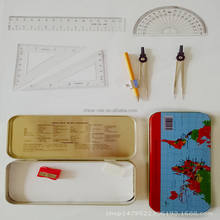 China Max 9piece Math Set Mathematical Instruments Compass Maths Set