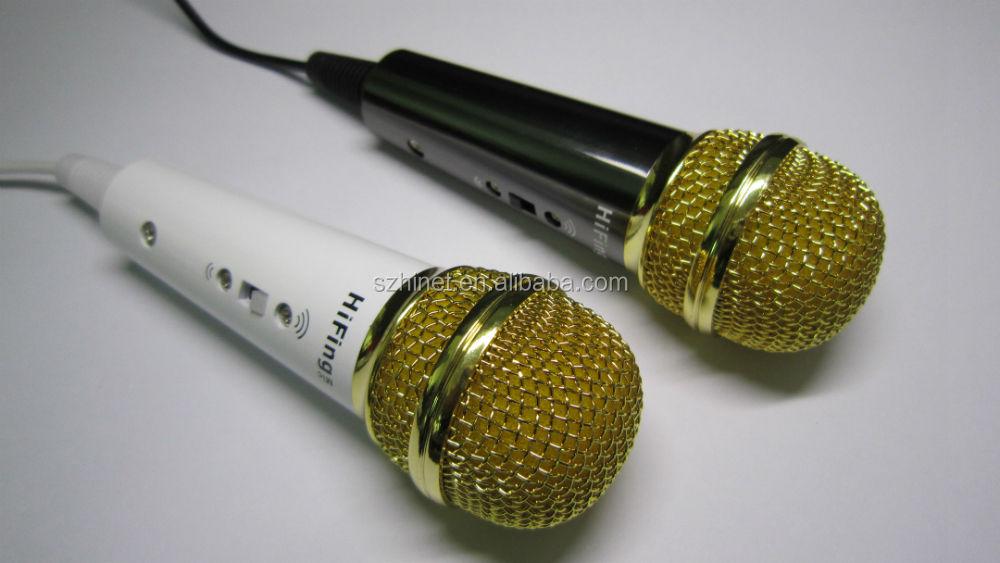 Mini bolso com fio celular Karaoke Player <span class=keywords><strong>portátil</strong></span> & móvel <span class=keywords><strong>microfone</strong></span> condensador Mic