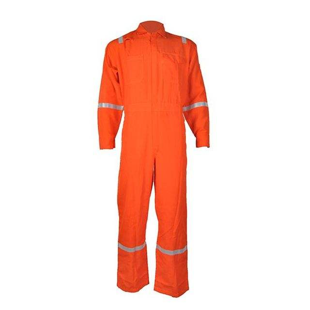 Workwear [ Flame Retardant Workwear ] Flame Retardant Workwear Cotton Anti Fire Flame Retardant Overalls For Workwear Overall