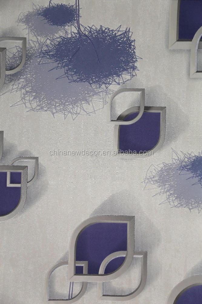 Vinyle en relief bleu clair impression <span class=keywords><strong>papier</strong></span> <span class=keywords><strong>peint</strong></span> bon prix