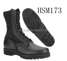 New Wellco combat infantry temperate weather waterproof black military boot for army