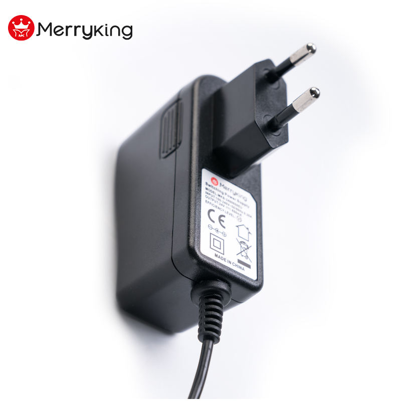 Merryking Uni Eropa Plug Dinding AC Adaptor DC 30 V 500mA 0.5A Power Supply Adapter dengan CE