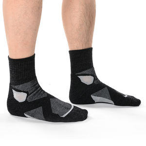 MEIKAN Custom 도매 두꺼운 스포츠 Sox Unisex Compression 울 Bamboo 섬유 Athletic Socks Men