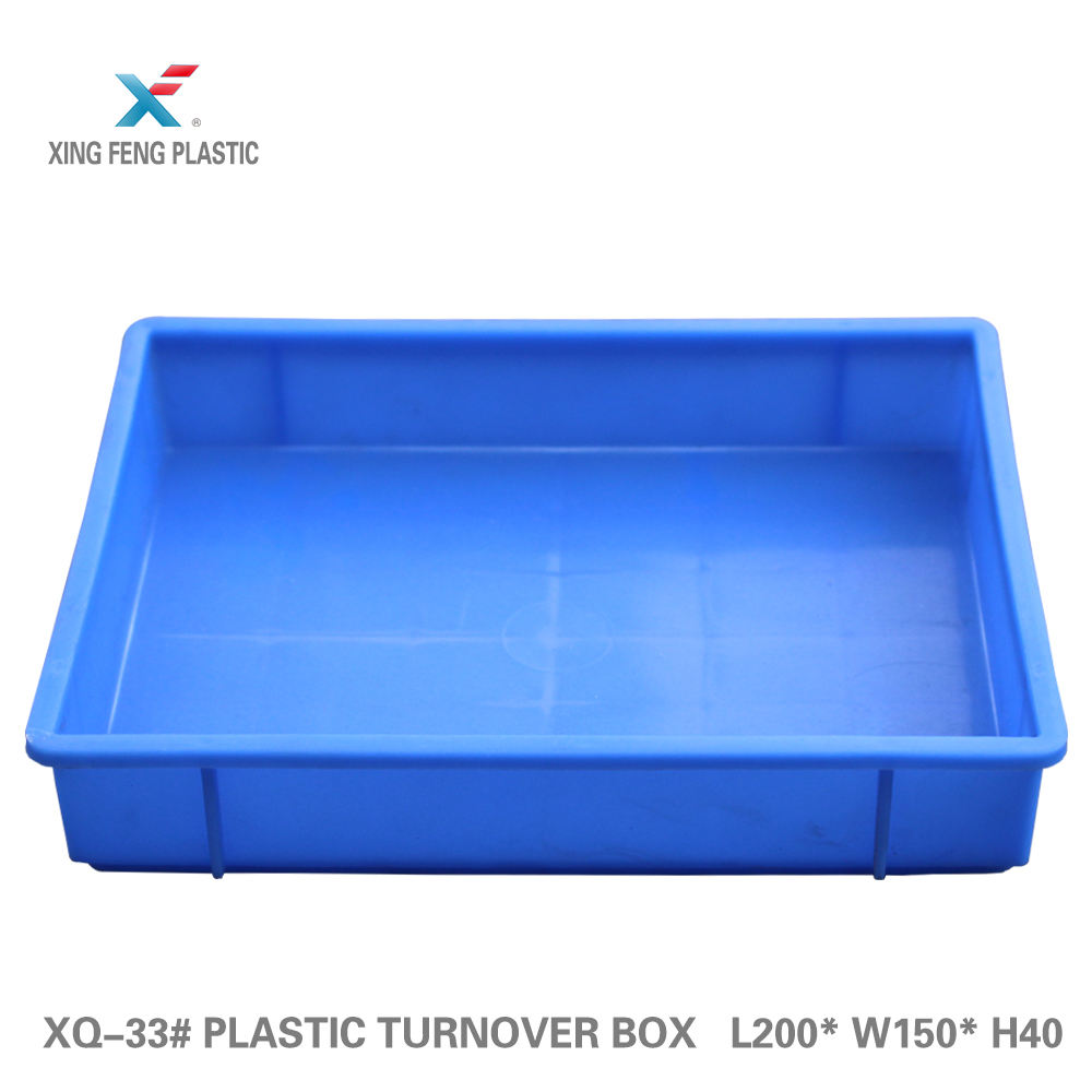 Solid unbreakable collapsible crate hard plastic turnover Box